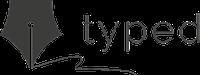 typed logo